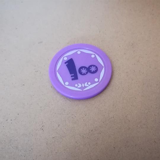 چاپ روی سکه پلاستیکی - پخش پلاستیک آریا